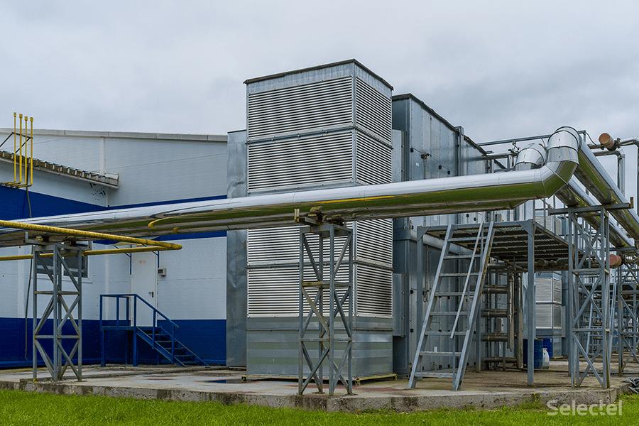 Система охлаждения дата-центра Дубровка 3 с АБХМ