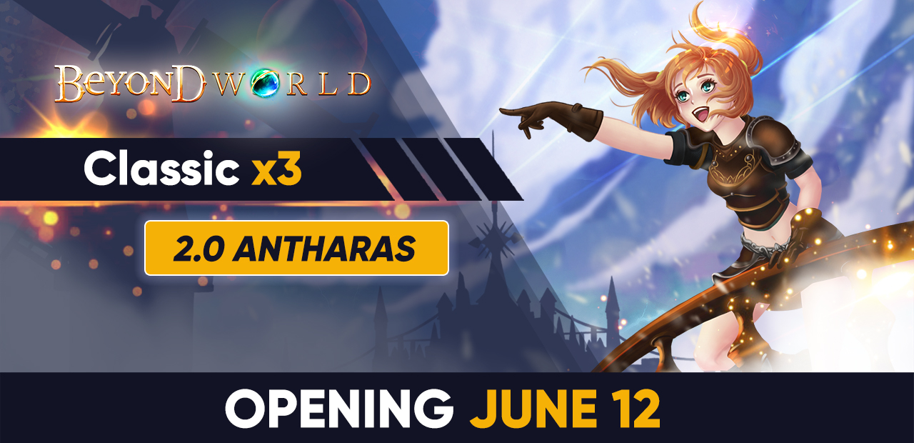 [Classic x3] Opening - June 12 20:00 GMT+2