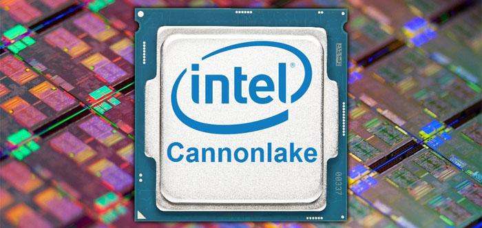 Intel Core i3-8121U — есть 10 нм