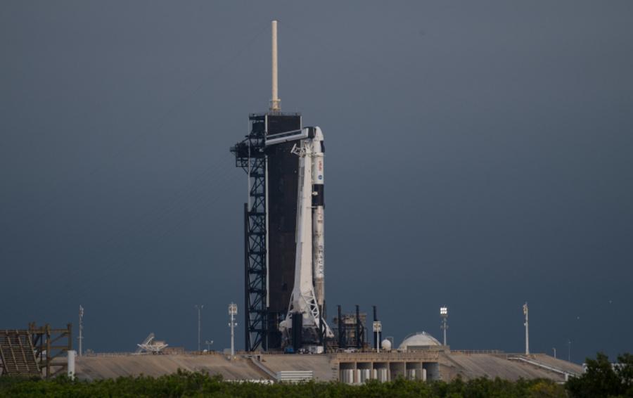 Миссия выполнима SpaceX запустила Falcon 9 с восстановленными первой ступенью и Crew Dragon