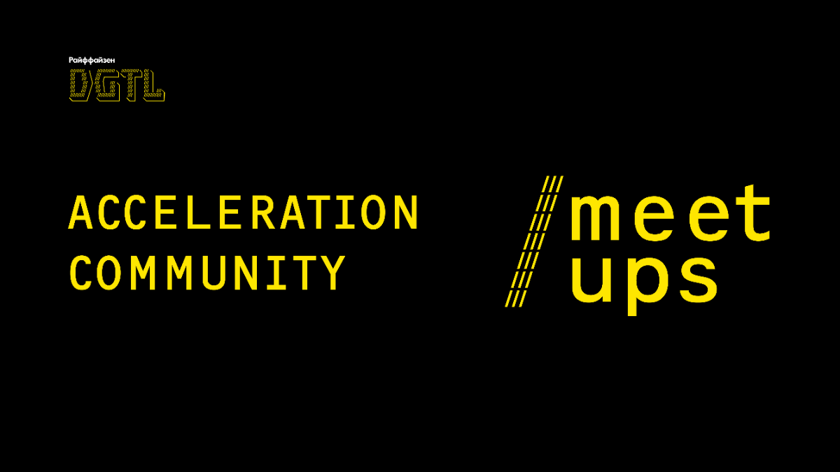 Acceleration Community Meetup 28/01
