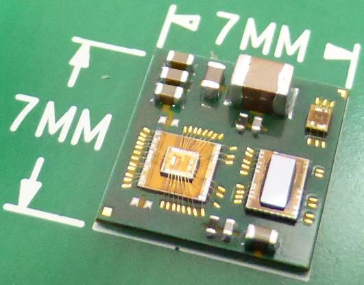 Миниатюрный чип с множеством плоских антенн способен заменить спутниковую тарелку.