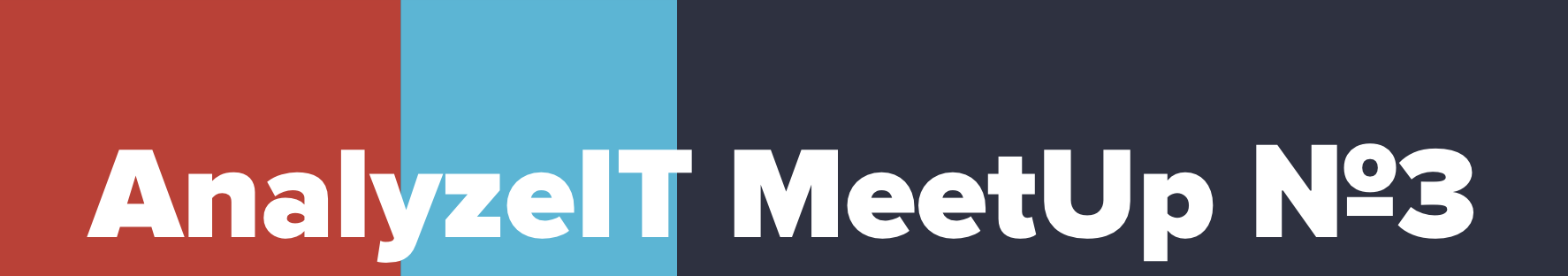 22 ноября, Москва — AnalyzeIT MeetUp №3