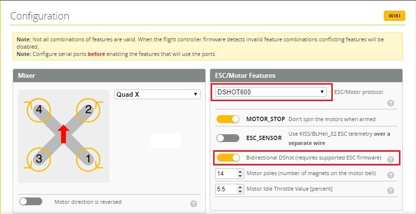 Переназначение выходов на моторы в BetaFlight и других портов - Все о квадрокоптерах | PROFPV.RU