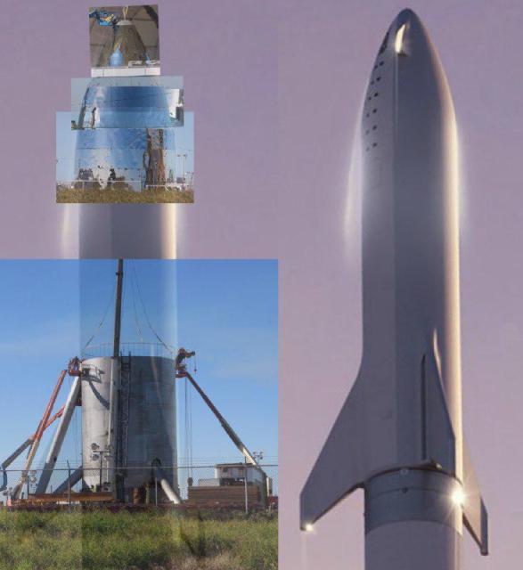 Техническая презентация нового космического корабля Starship/BFS от SpaceX планируется в марте-апреле 2019-го года