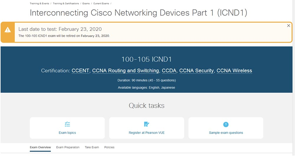 Перевод] Тренинг Cisco 200-125 CCNA v3 0  День 33