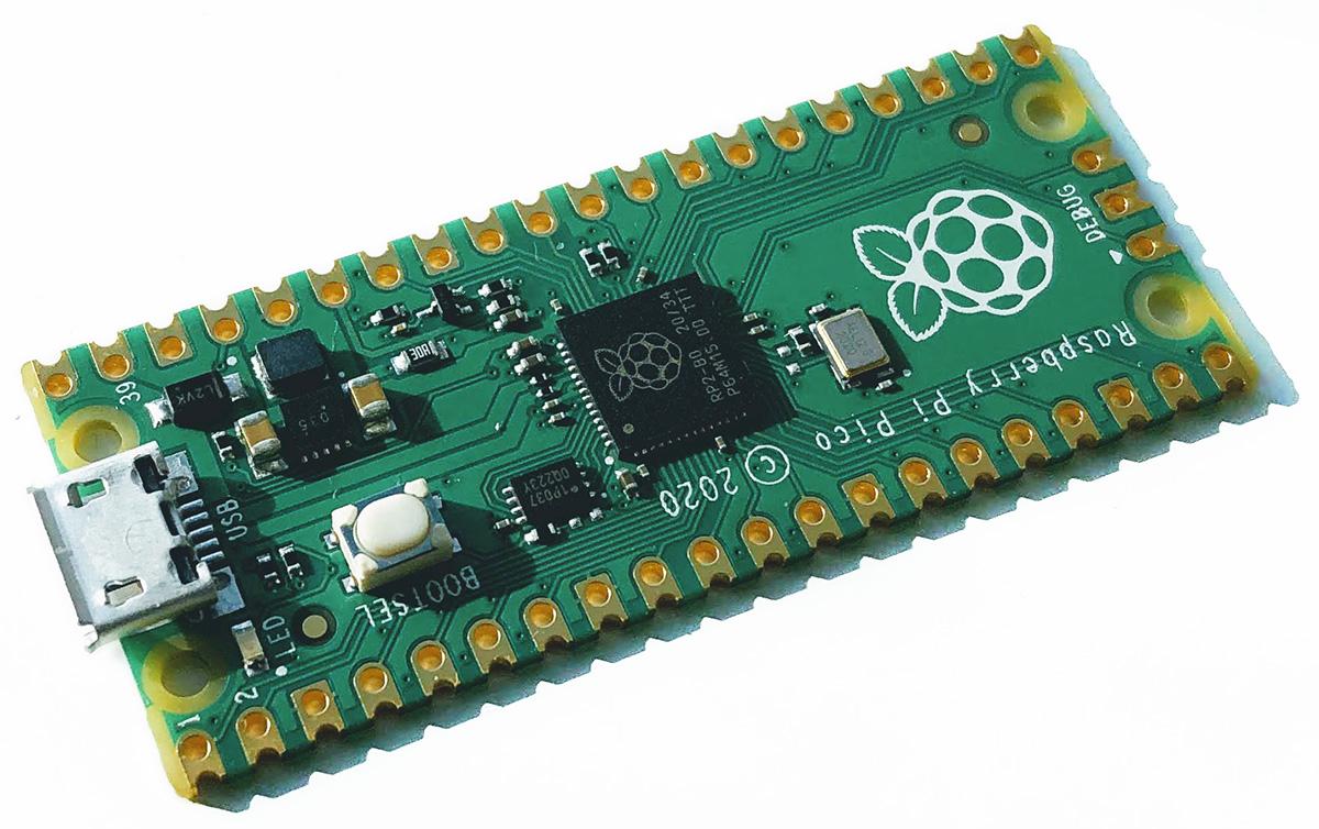 Raspberry Pi Pico на МК RP2040 начало и первые шаги. Что есть поесть за 4