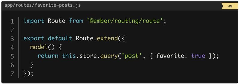 DSL библиотеки Ember-data