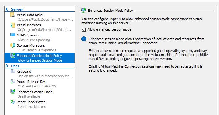 Включаем Enhanced Session Mode для Arch Linux-гостей в Hyper-V
