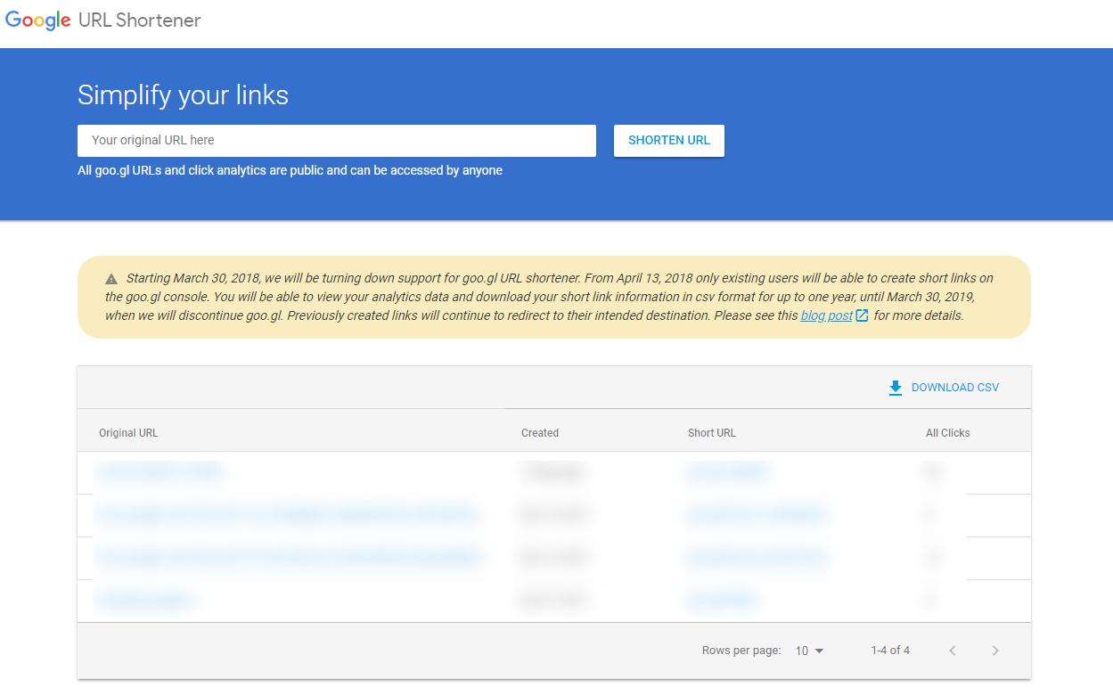 Google закрывает goo.gl. На смену приходит Firebase Dynamic Links