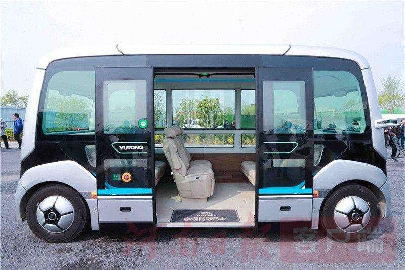 В Китае запустили коммерческие беспилотные автобусы и вообще про китайский общественный и личный транспорт