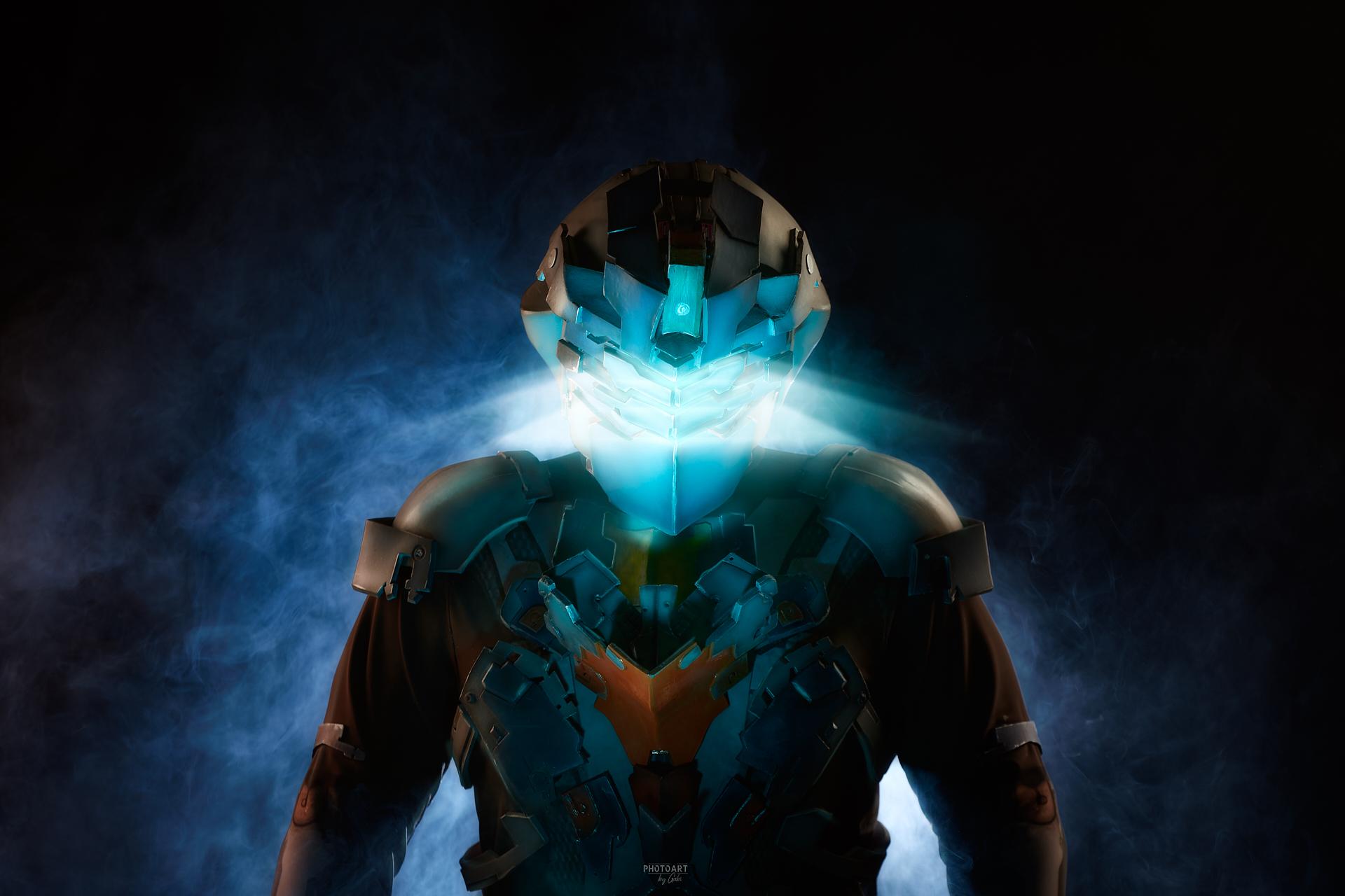 Как делается косплей. Cоздание костюма Advanced Suit Aйзека Кларка из игры Dead Space 2