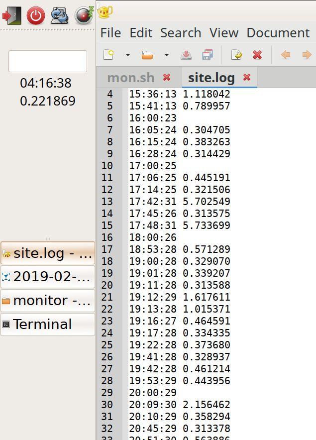 Простейший веб-монитор сайта