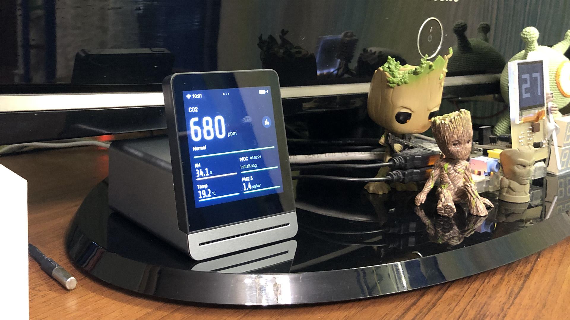 Работаем с датчиком CO₂ Xiaomi ClearGrass Air Detector локально, без китайских серверов