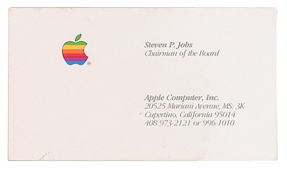 На аукционе RR Auction выставлена на продажу 3.5'' дискета с автографом Стива Джобса