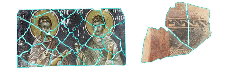 Нейросеть собирает воедино фрагменты археологических находок