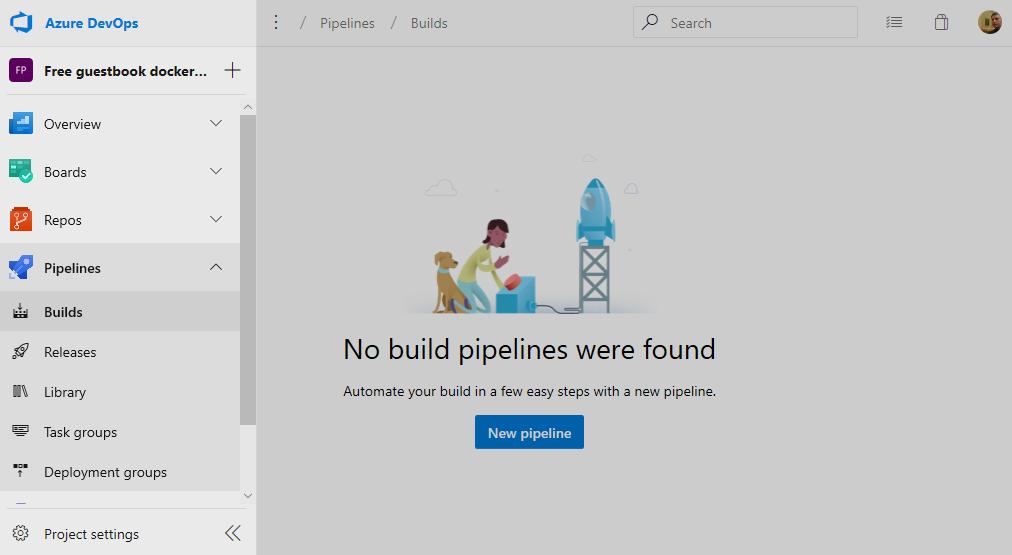 Создание Pipeline