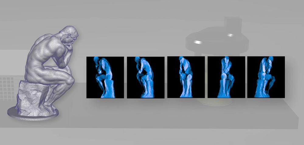 Фотополимерный 3D-принтер из бытового видеопроектора создает объекты без слоев