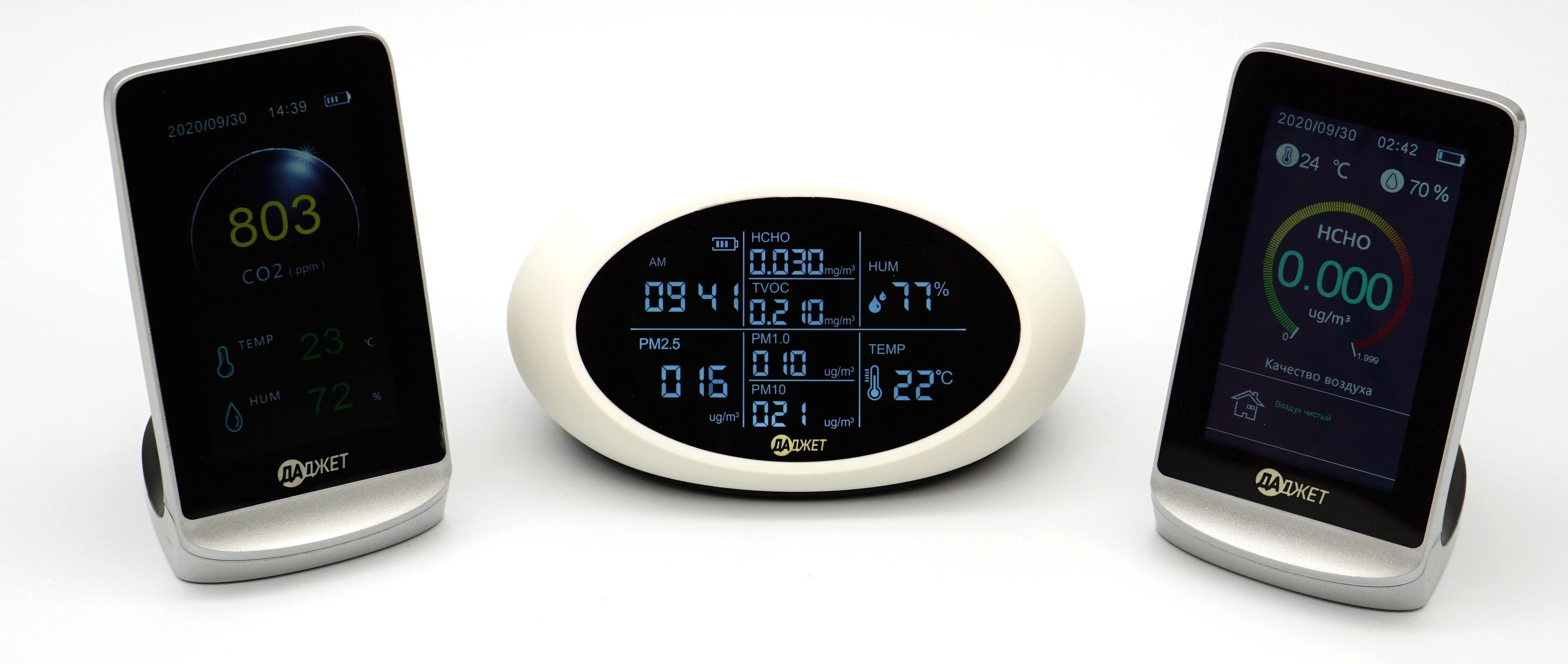 Мониторы качества воздуха ATMO