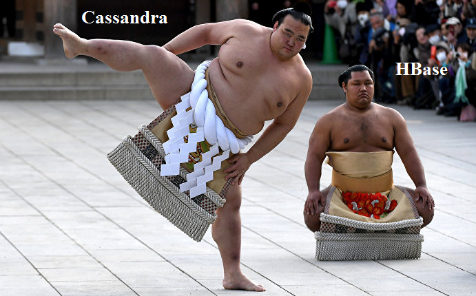 Битва двух якодзун, или Cassandra vs HBase. Опыт команды Сбербанка