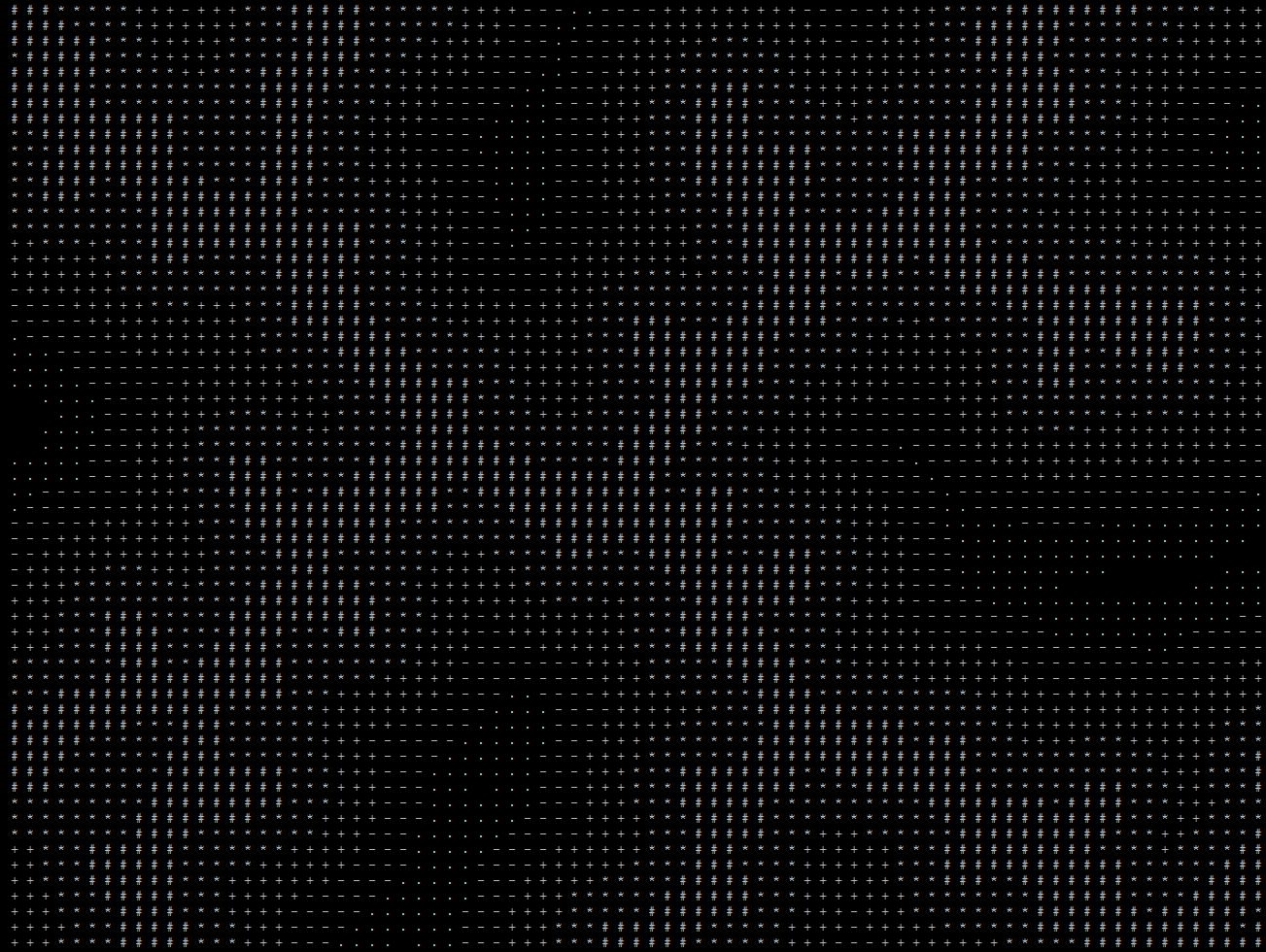 Рисуем морозные узоры на SQL