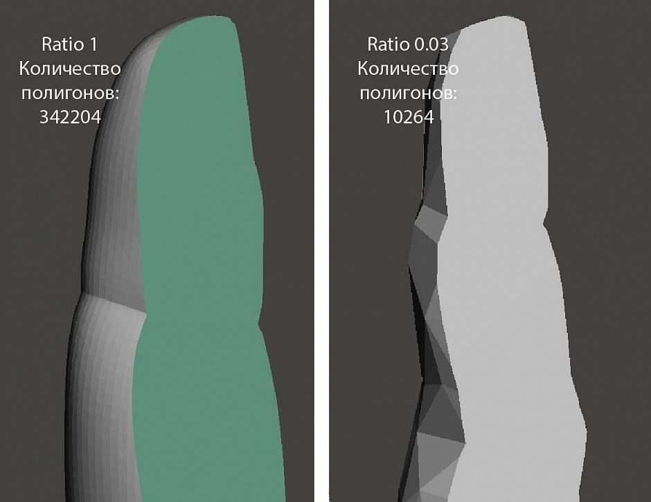 Optimizing the model for 3D printing using Blender