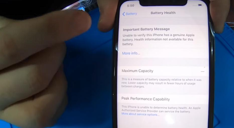 Apple предупредила пользователей iPhone оремонте батарей