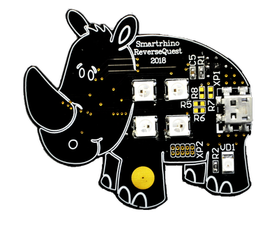 "Reverse engineering of firmware devices on the example of a flashing ""rhino"". Part 1"
