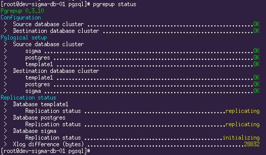 Seamless (almost) migration between PostgreSQL major releases using