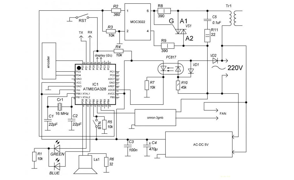 Контактная сварка для аккумуляторов 18650