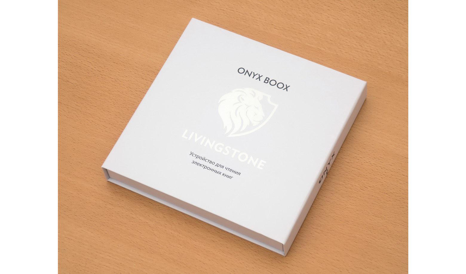 Упаковка ONYX BOOX Livinstone