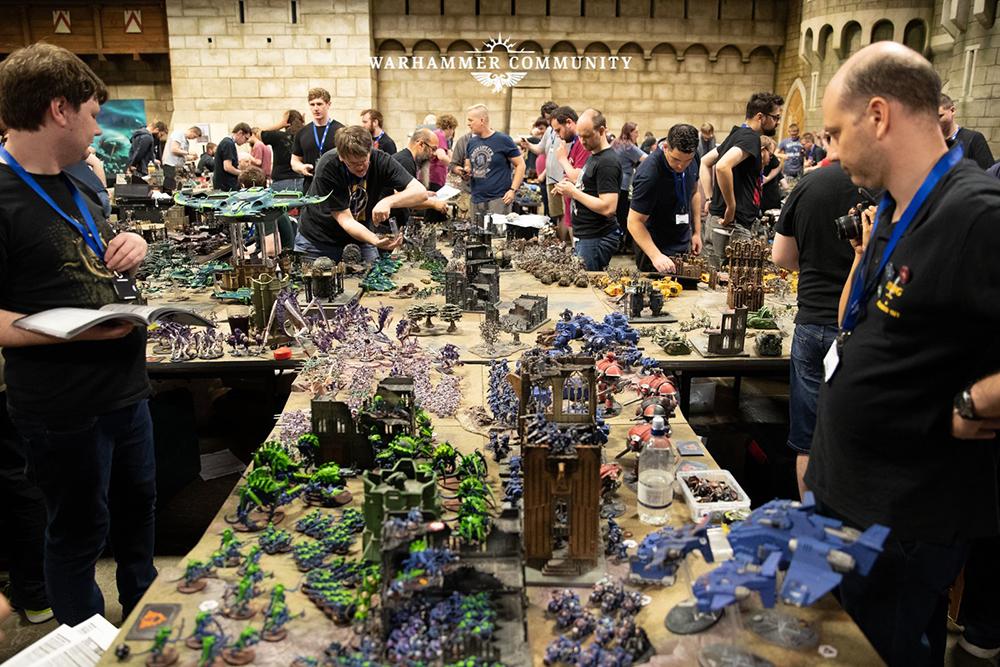 Фотография турнира по Warhammer 40000 - Apocalypse