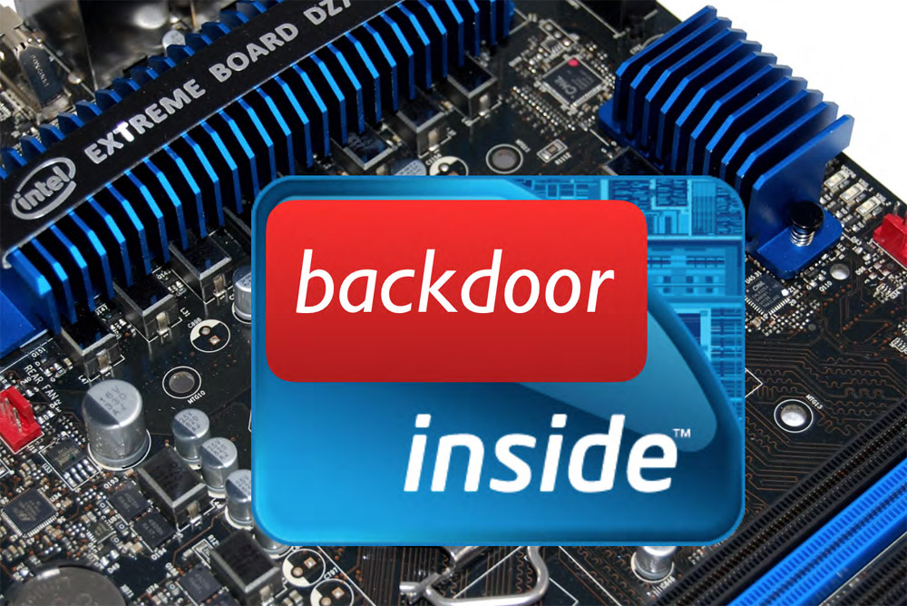 Backdoors in the microcode assembly instructions for x86 processors