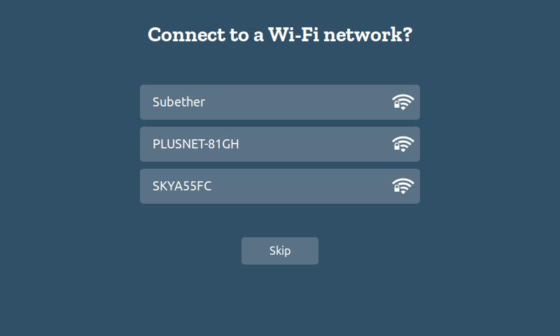 Подключение по Wi-Fi