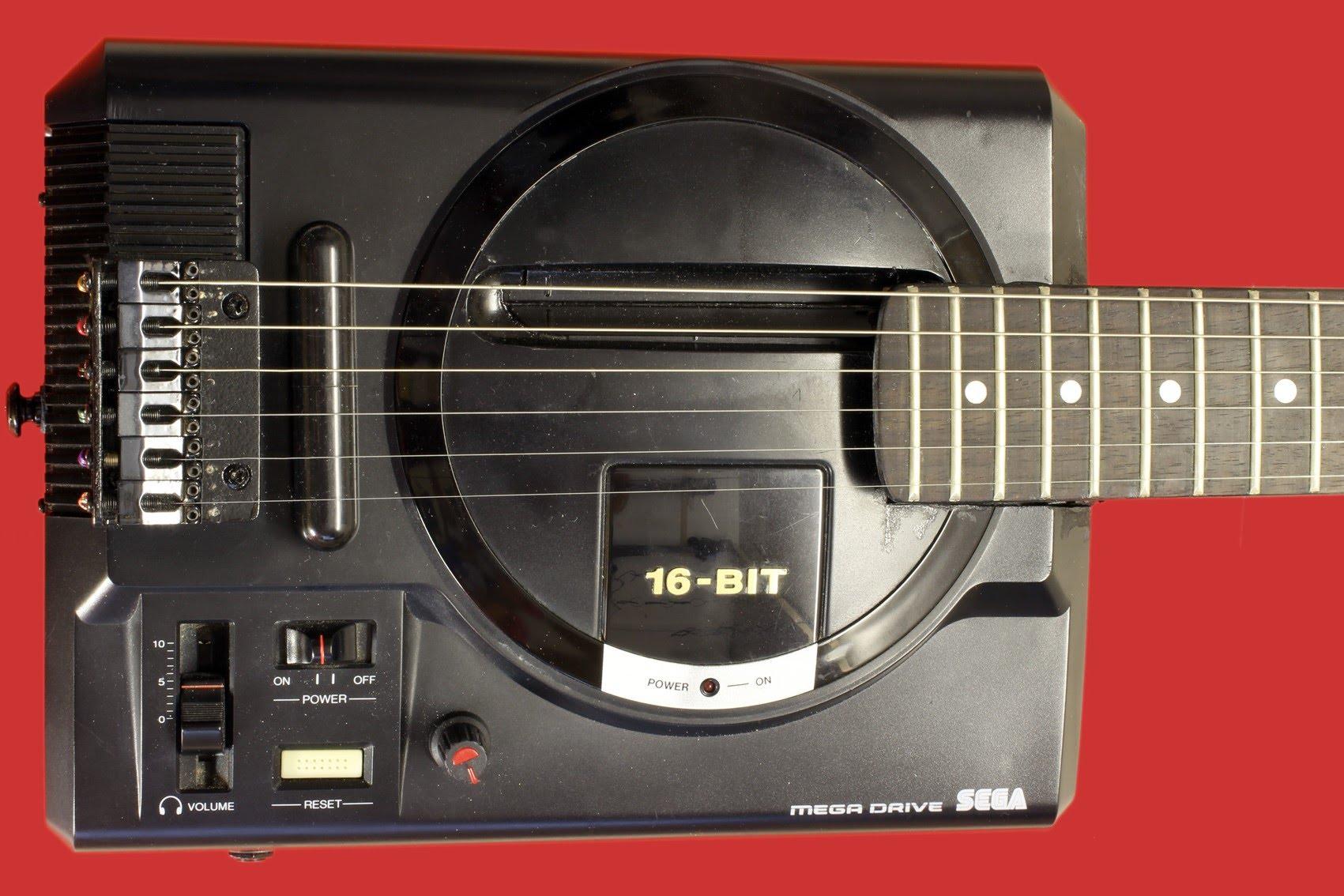 Гитары мечты ч.2: консольные гибриды — geek-эстетика и художественная шумогенерация (Sega, Nintendo, Atari и др.)