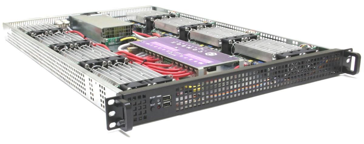 Сервер для исполнения нейронных сетей на базе 8 штук Intel NUC8i5BEK