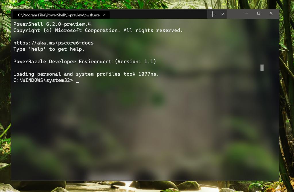 Перевод Вышел Windows Terminal Preview 1.1