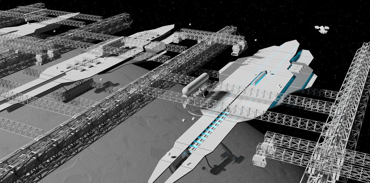 Симулятор кораблестроения в космоопере