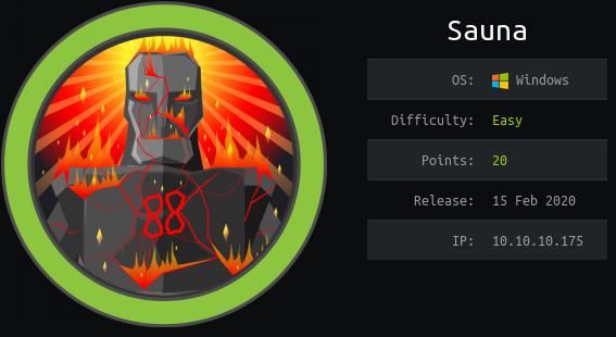 HackTheBox. Прохождение Sauna. LDAP, AS-REP Roasting, AutoLogon, DCSync атака
