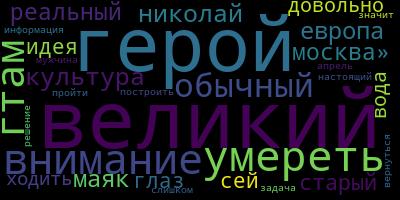 LDA на статьях LiveJournal + визуализация — IT-МИР. ПОМОЩЬ В IT-МИРЕ 2021