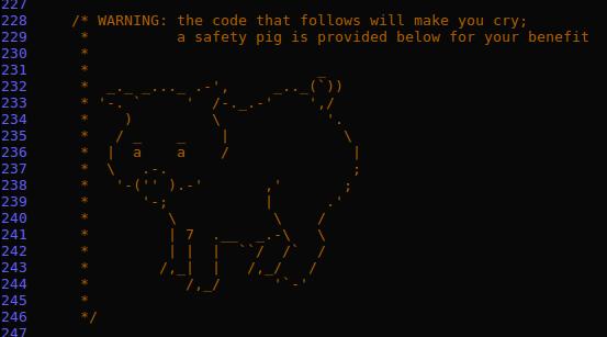 Лучшие комменты в исходном коде — IT-МИР. ПОМОЩЬ В IT-МИРЕ 2020
