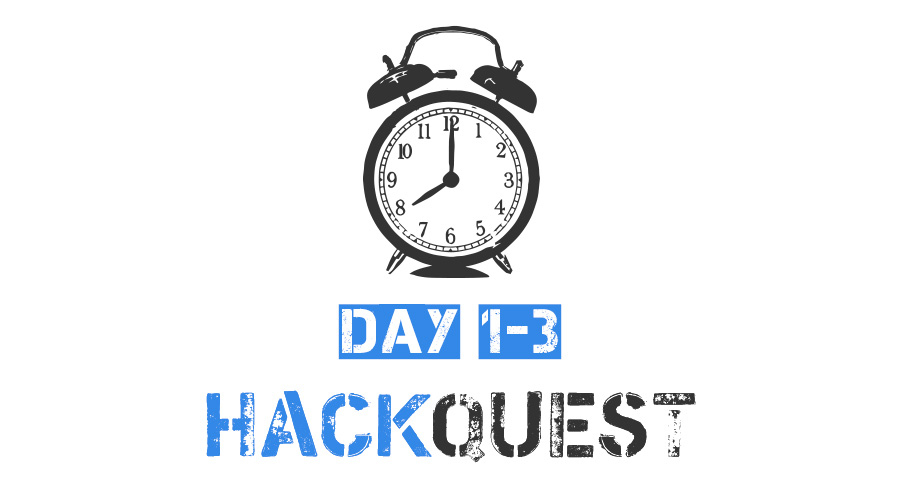 Hackquest 2018. Results & Writeups. Day 1-3