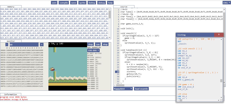 Игровая консоль и игры к ней своими руками, Little Game Engine + ESPboy
