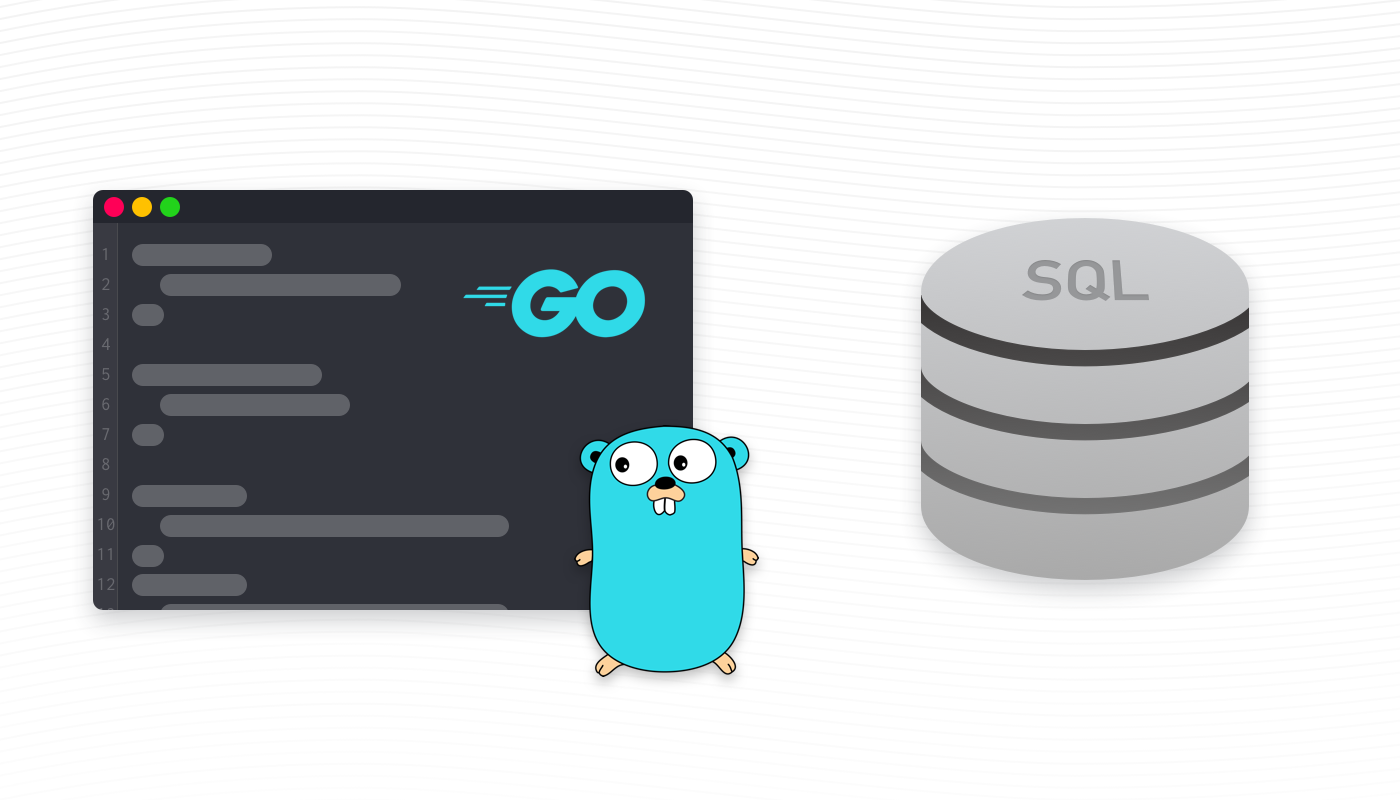 Generator client to database on Golang based on