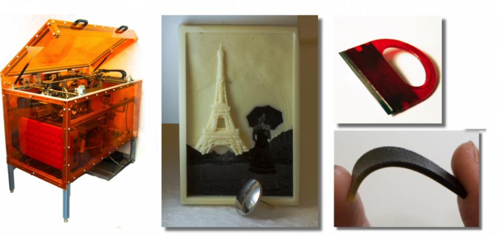 3D-принтер из MIT: до 10 материалов на модель