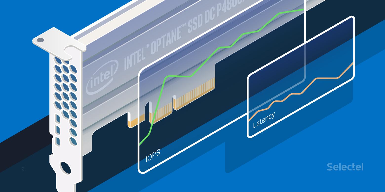 Анализ производительности накопителя Intel Optane SSD 750ГБ