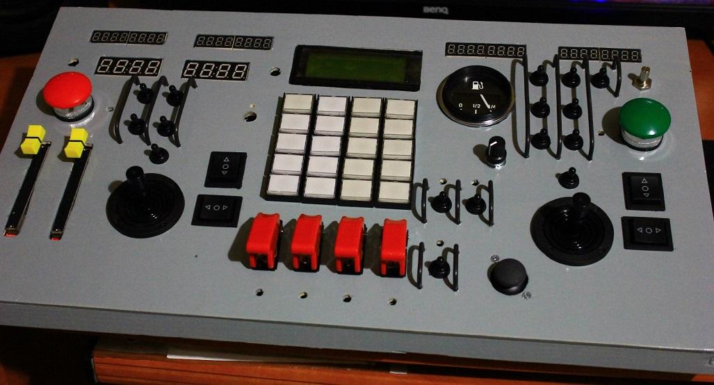 USB панель управления космическим кораблем своими руками