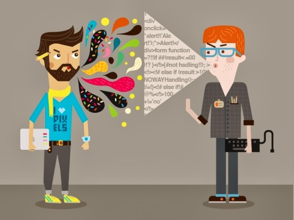 Designers and developers: sworn friends and the best enemies