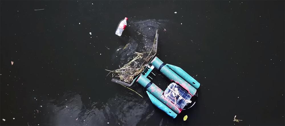 [Перевод] Сила толпы. Как в Сан-Франциско разработали мусоедного робота – очистителя рек