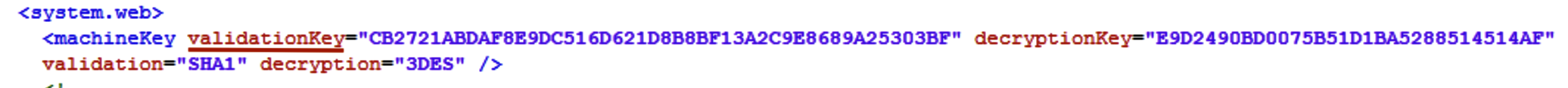 web.config file fragment